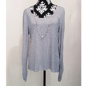 White House Black Market | Long sleeve Blouse